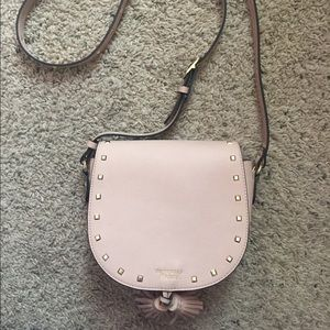 Victoria's Secret studded crossbody purse.